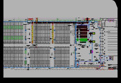 Conhexa – capaciteitsberekening halfautomatisch magazijn