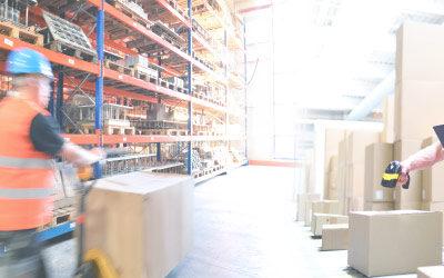 Verhoog in 2 stappen het rendement en de efficiëntie van uw logistieke handelingen